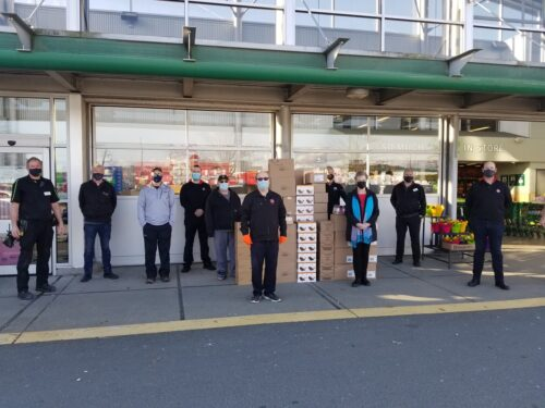Donation to the Campbell River Food Bank